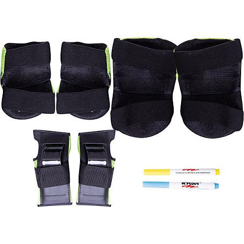Комплект защиты Wipeout Zest с фломастерами, кислотный - зеленый от Wipeout