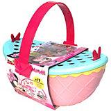 """Disney Игровой набор """"Минни: Набор для пикника"""" (корзинка 25 см, посуда, аксесс.)"""