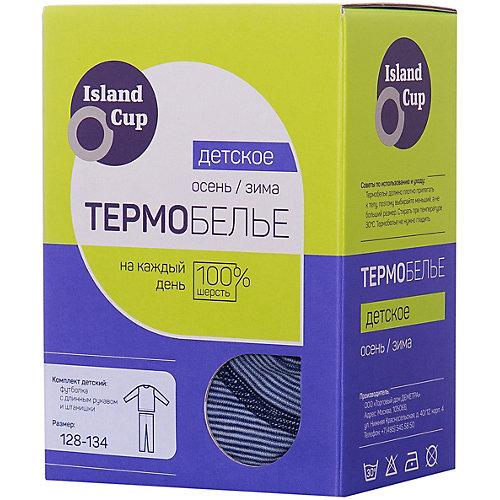 Комплект термобелья Island Cup - синий от Island Cup
