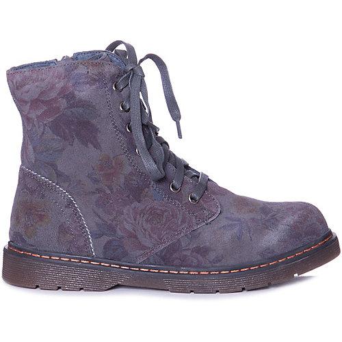 Утепленные ботинки Котофей - серый от Котофей