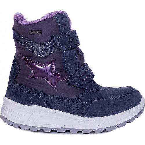 Ботинки Котофей для девочки - лиловый от Котофей