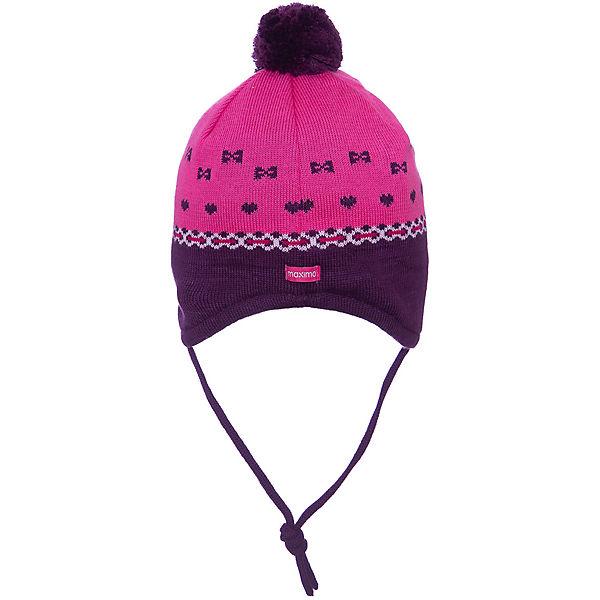 Baby Bommelmütze zum Binden für Mädchen, MaxiMo   myToys afd3df8c7c
