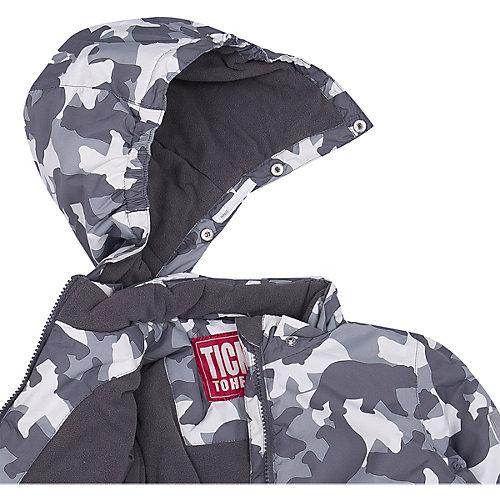 Утеплённая куртка Ticket To Heaven - серый от TICKET TO HEAVEN