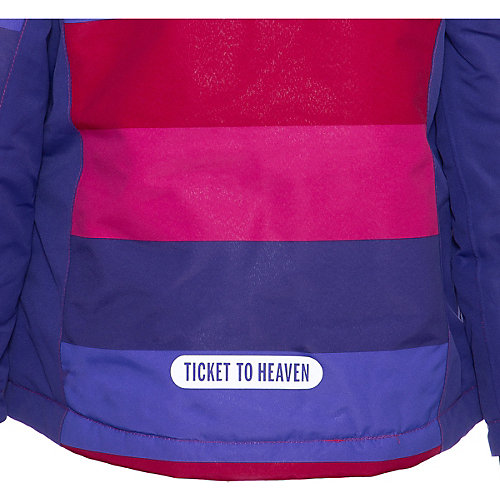 Пуховик Ticket To Heaven - лиловый от TICKET TO HEAVEN