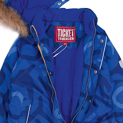 Утеплённый комбинезон Ticket To Heaven - синий от TICKET TO HEAVEN