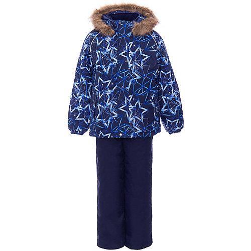 Комплект Huppa Winter: куртка и полукомбинезон - темно-синий от Huppa