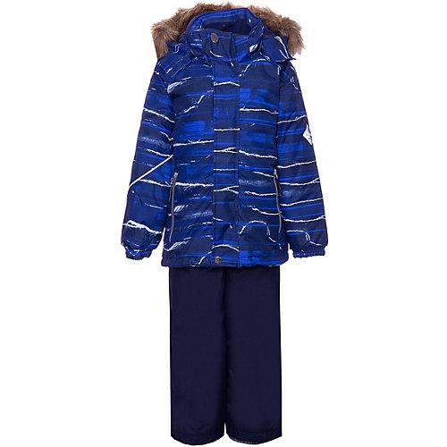 Комплект Huppa Dante 1: куртка и полукомбинезон - темно-синий от Huppa