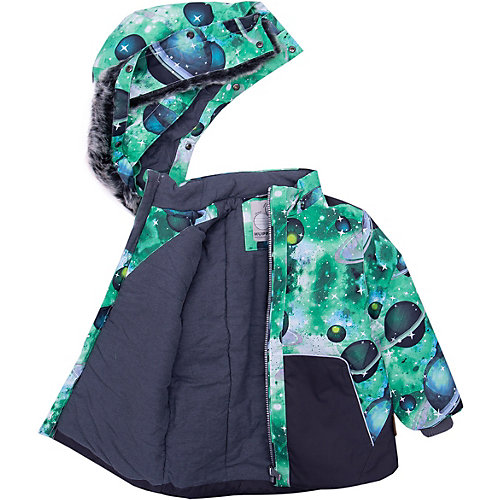 Комплект Huppa Russel: куртка и полукомбинезон - зеленый от Huppa