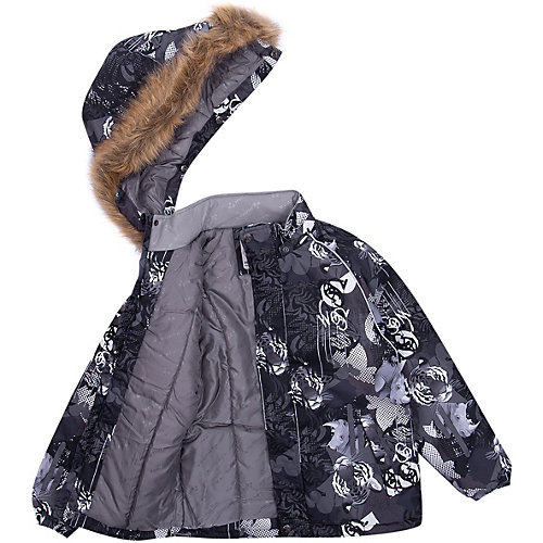 Утепленная куртка Huppa Marinel - темно-серый от Huppa