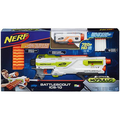 Бластер Nerf Модулус Баттлскаут от Hasbro