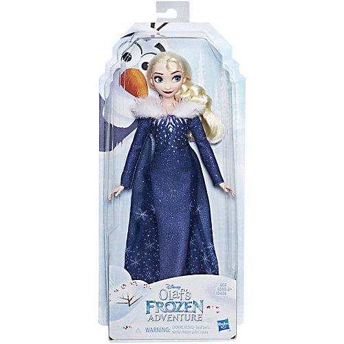 """Кукла Disney Princess Холодное сердце """"Рождество с Олафом"""" Эльза от Hasbro"""