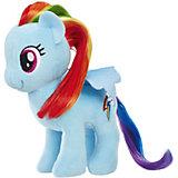 """Мягкая игрушка My little Pony """"Пони с волосами"""" Рэйнбоу Дэш, 16 см"""