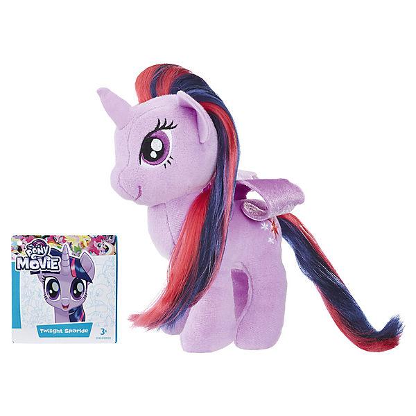 """Мягкая игрушка My little Pony """"Пони с волосами"""" Твайлайт Спаркл (Искорка), 16 см"""