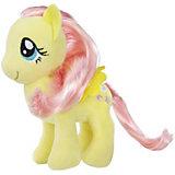 "Мягкая игрушка My little Pony ""Пони с волосами"" Флаттершай, 16 см"