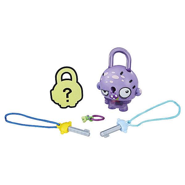 Замочки с секретом Lock Stars, Фиолетовый зомби