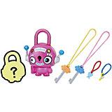 Замочки с секретом Lock Stars, Розовый круглый робот