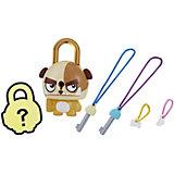 Замочки с секретом Lock Stars, Коричневая собака