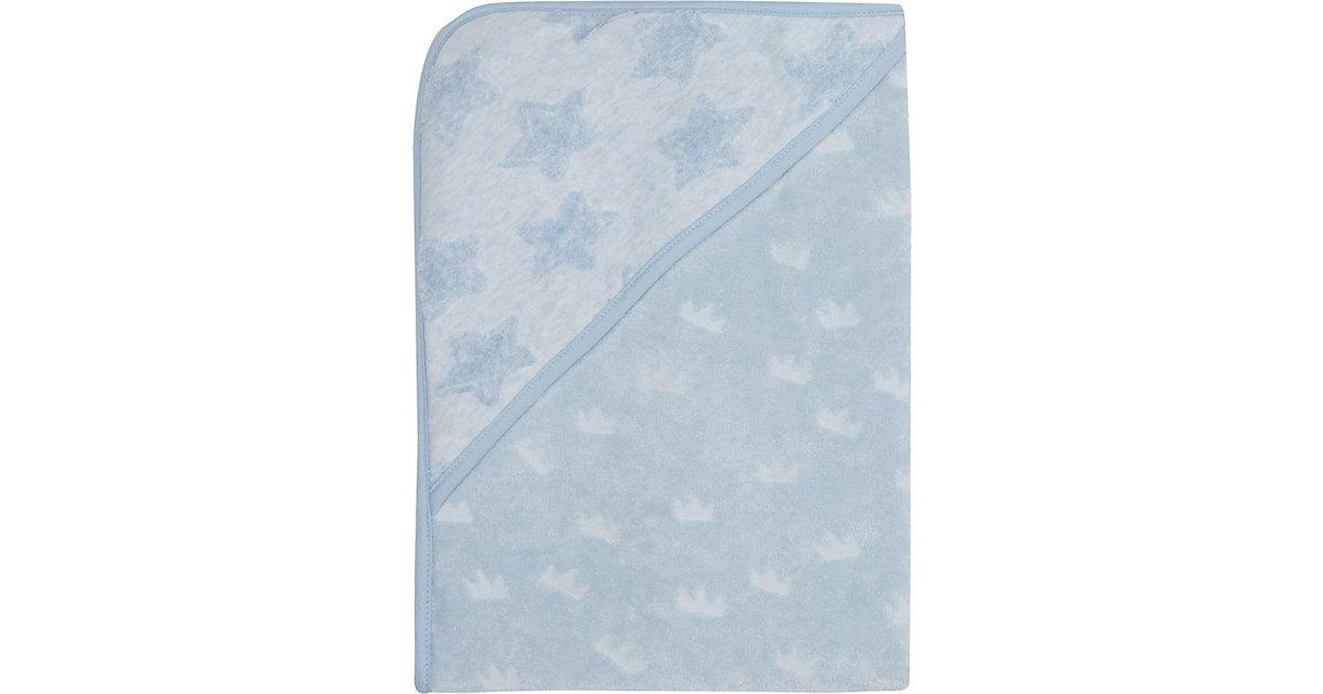 bébé jou · Kapuzenbadetuch, Frosted Blue