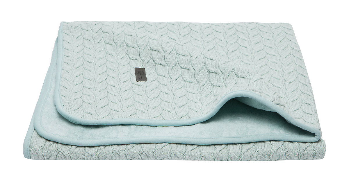 bébé jou · Babydecke Samo, 90x140 cm, Morning Mint