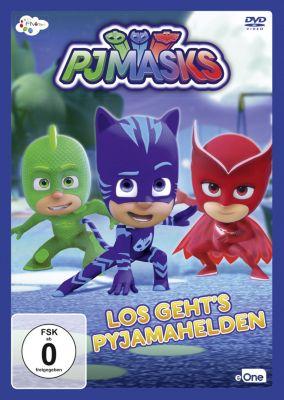 DVD PJ Masks Los Geht's Pyjamahelden (Vol.2), PJ Masks