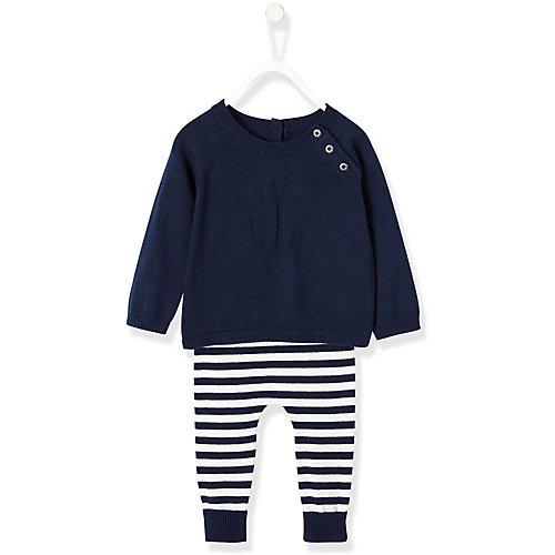 Baby Set Strickpullover + Sweathose Gr. 68 Jungen Baby | 03611652730626