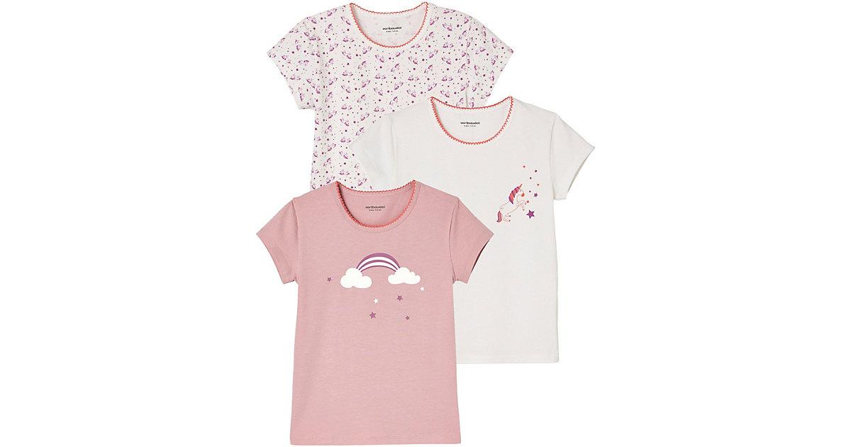 Vertbaudet · Unterhemden 3er-Pack Gr. 92 Mädchen Kleinkinder