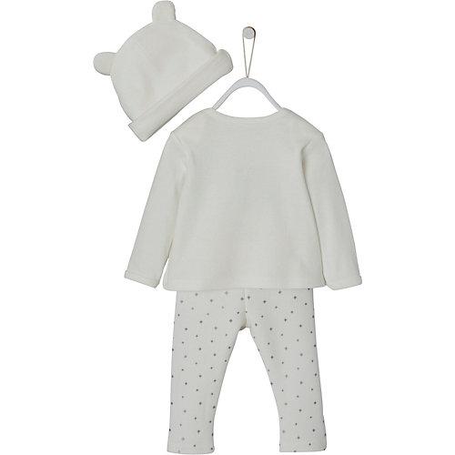 Baby Set Langarmshirt + Sweathose + Mütze Gr. 68 | 03611652657527