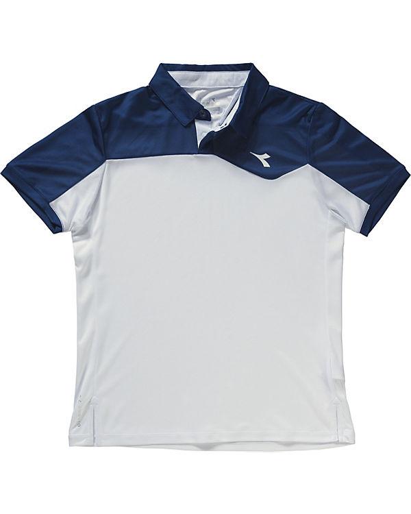 the latest 75d11 b69a5 Tennis Poloshirt für Jungen, Diadora