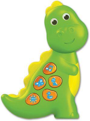 Музыкальная игрушка Азбукварик Динозаврик