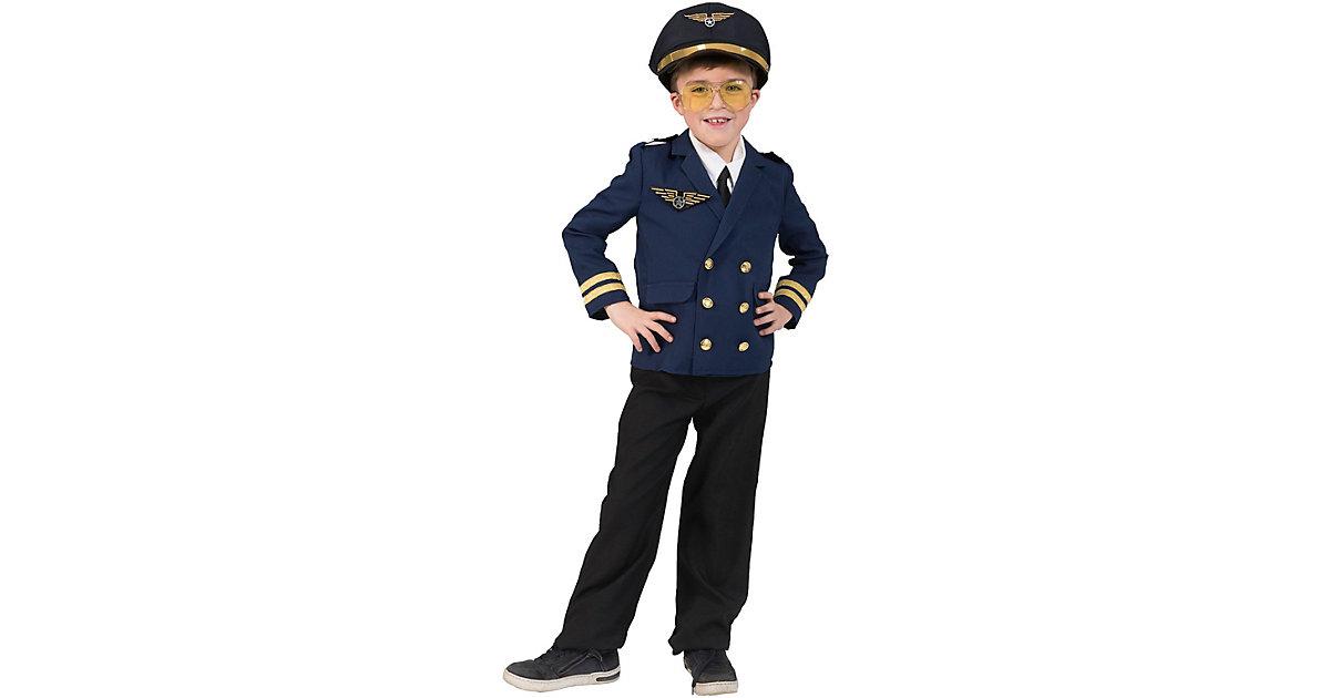 Kostümjacke Pilot dunkelblau Gr. 140