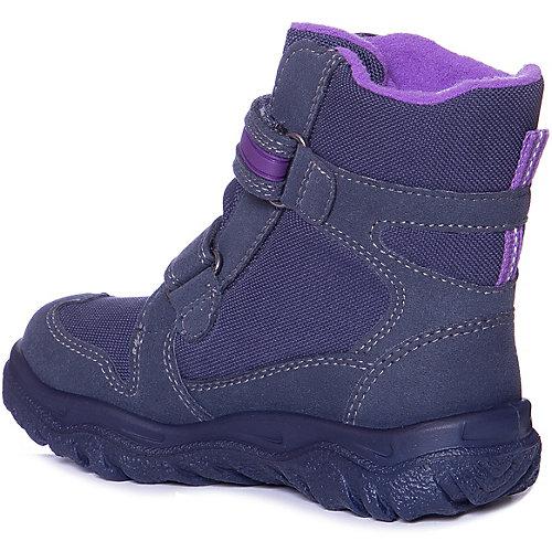 Утепленные ботинки Superfit - blau/lila от superfit