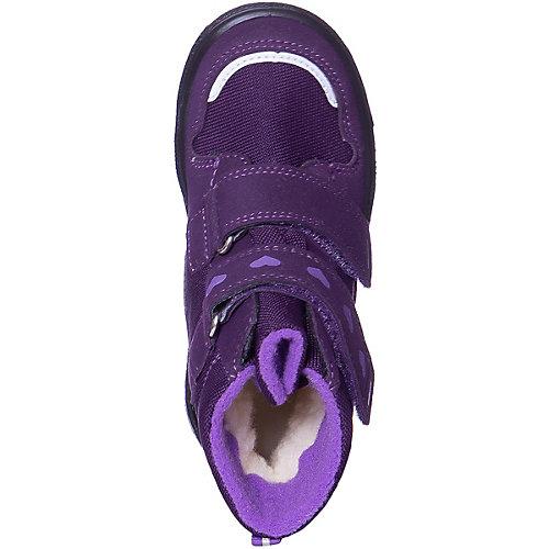 Утепленные ботинки Superfit - лиловый от superfit