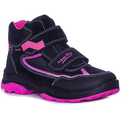 Ботинки Superfit - черный/розовый от superfit