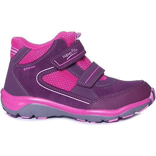 Ботинки Superfit для девочки - бордовый от superfit