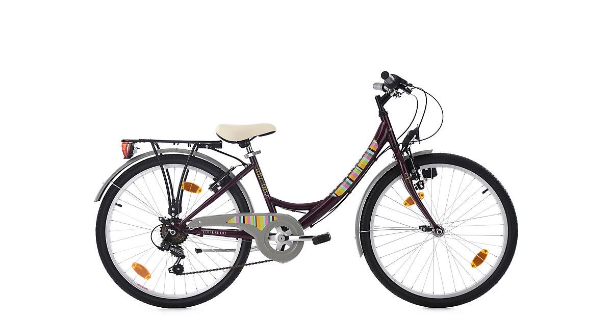Kinderfahrrad 24´´ Gurlz lila KS Cycling