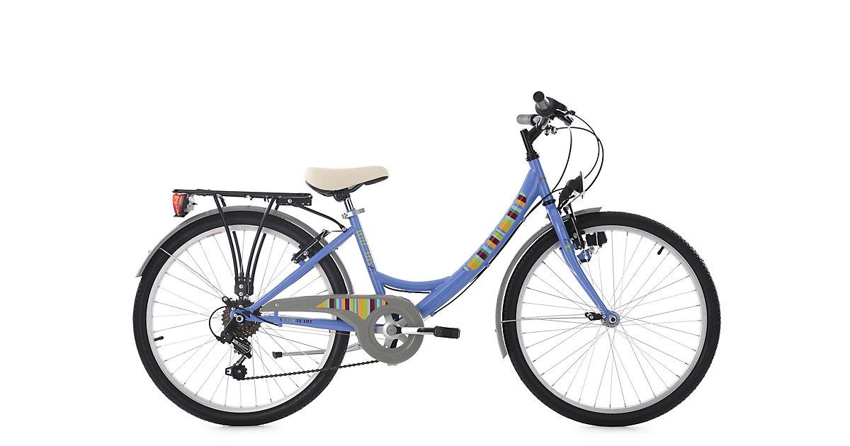 Kinderfahrrad 24´´ Gurlz blau RH 36 cm KS Cycling