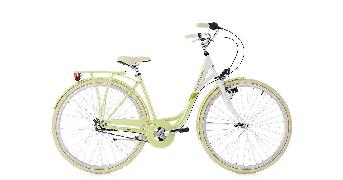 KS Cycling · Damenfahrrad 28´´ Belluno grün 7 Gänge RH 48 cm KS Cycling