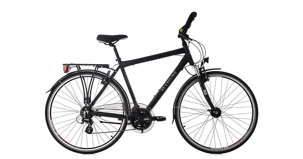 KS Cycling · Trekkingrad Herren 28´´ Norfolk 24 Gang schwarz RH 53 cm Multipositionslenker KS Cycling