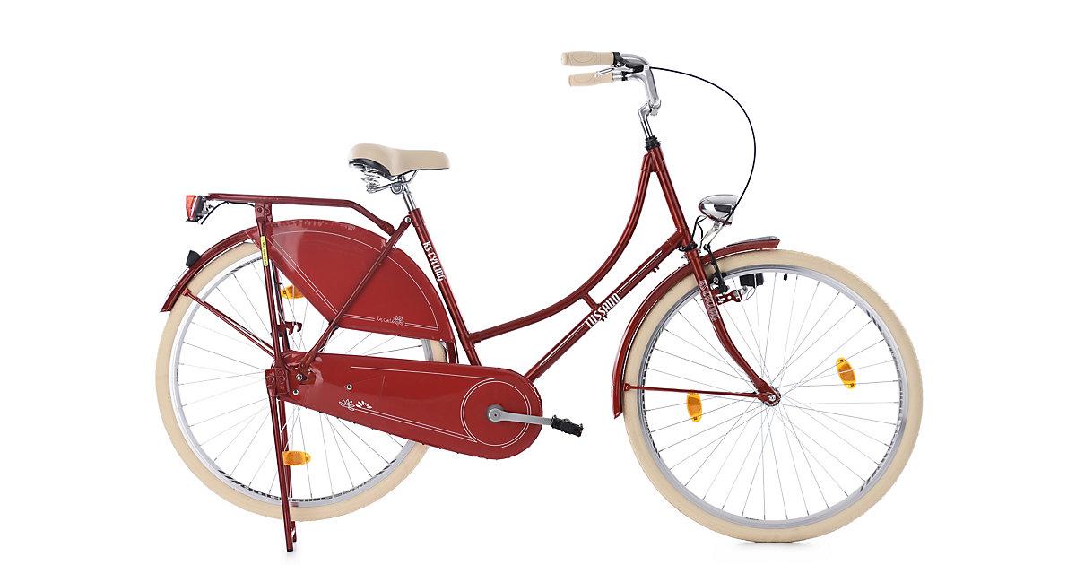 KS Cycling · Hollandrad 28´´ Tussaud Singlespeed Rot RH 53 cm KS Cycling