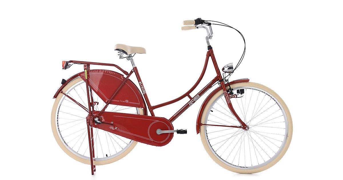 KS Cycling · Hollandrad 28´´ Tussaud 3-Gänge Rot RH 53 cm KS Cycling