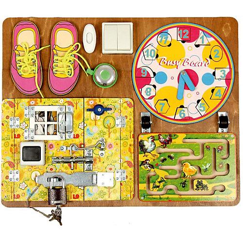 Бизиборд Нескучные Игры для девочек от Нескучные игры