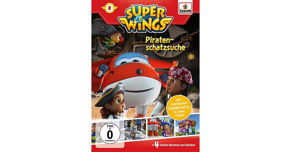 DVD Super Wings 8 - Piratenschatzsuche Hörbuch