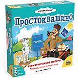 """Настольная игра Звезда """"Простоквашино""""  Геометрические фигуры"""