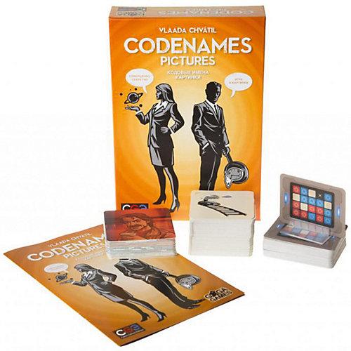 """Настольная игра GaGa Games """"Кодовые имена. Картинки"""" от GaGa Games"""