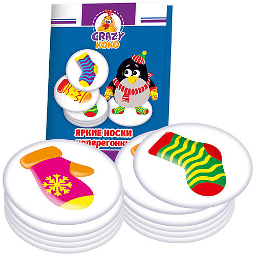 "Настольная игра Vladi Toys ""Варежки-носочки"" от Vladi Toys"