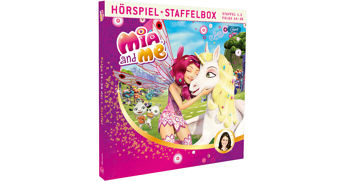 Edel · CD Mia and Me Staffel-Box 1.2 (MP3-CD)