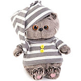 Мягкая игрушка Budi Basa Кот Басик Baby в пижамке, 20 см