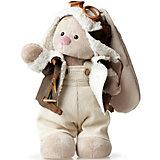 Мягкая игрушка Budi Basa Зайка Ми в куртке пилот, 25 см