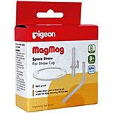Запасные трубочка и кольцо Pigeon для поильника MagMag, 2 шт.