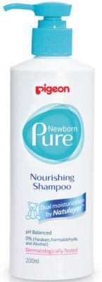 Шампунь питательный Pigeon Newborn Pure Nourishing Shampoo, с 0 мес., 200 мл.